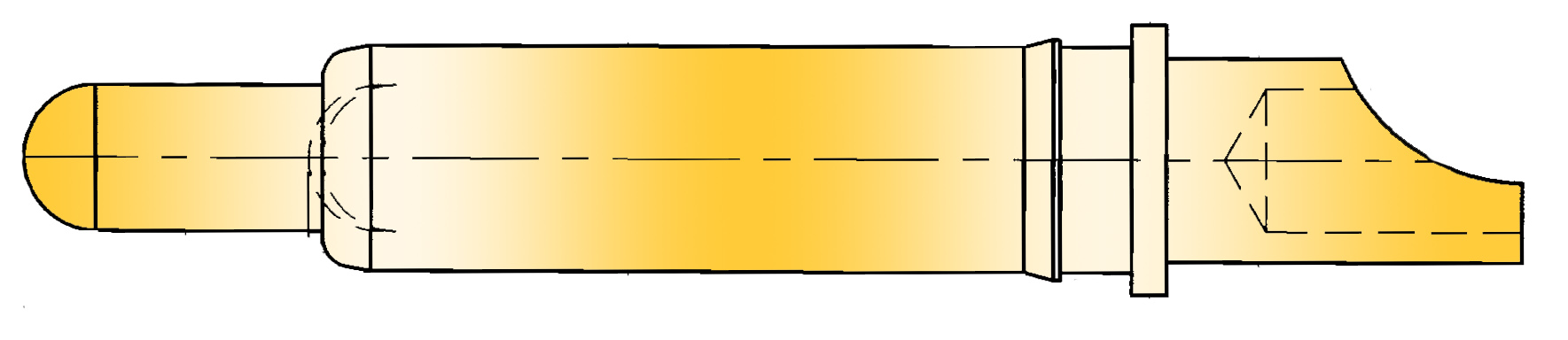 Federkontakt High Current Hochstrom