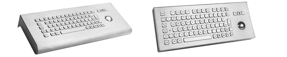 Desktop Edelstahl-Tastatur