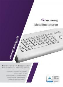 Katalog Edelstahl Tastaturen, Metalltastaturen