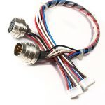 Konfektioniertes Kabel mit XLR Stecker
