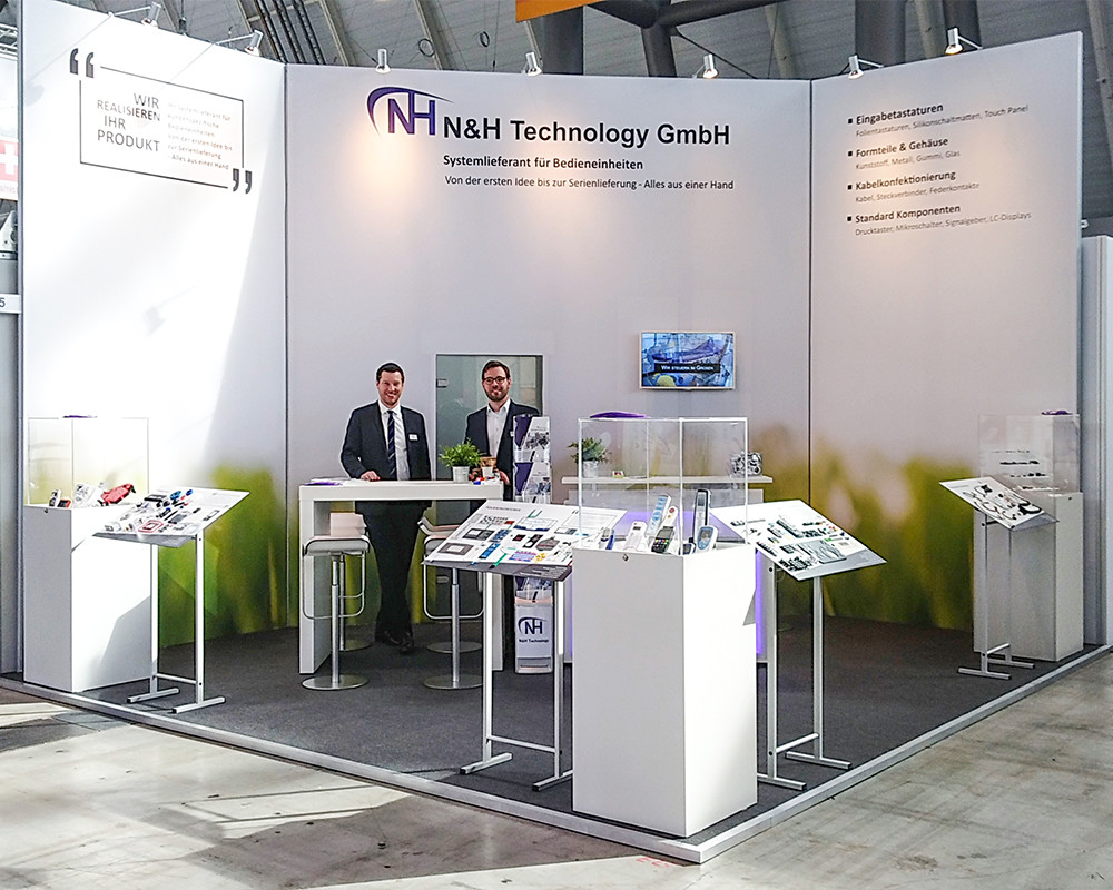 Messestand T4M N&H Technology