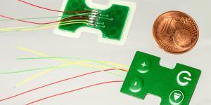 Miniatur Folientastatur auf Leiterplatte