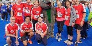 N&H beim Run Fun Firmenlauf in Mönchengladbach