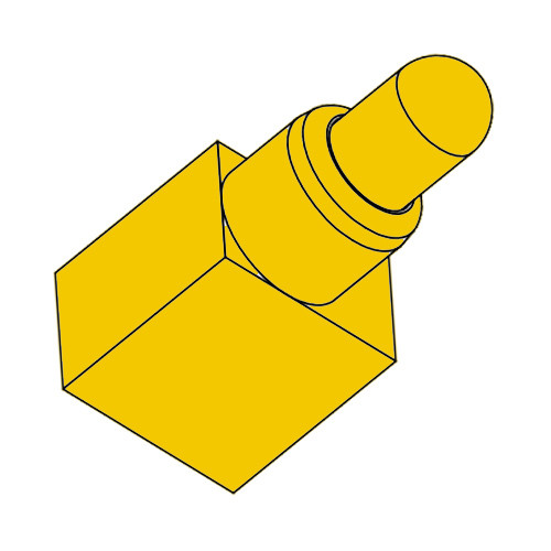 Right Angle Federkontakt Pogo Pin SVPC-R-H003M0