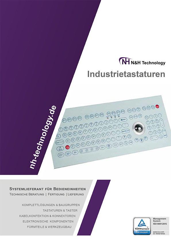 Standard Industrie Folientastaturen