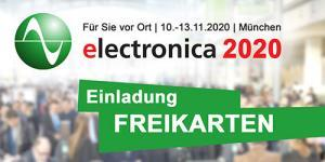 Einladung Freikarten electronica 2020