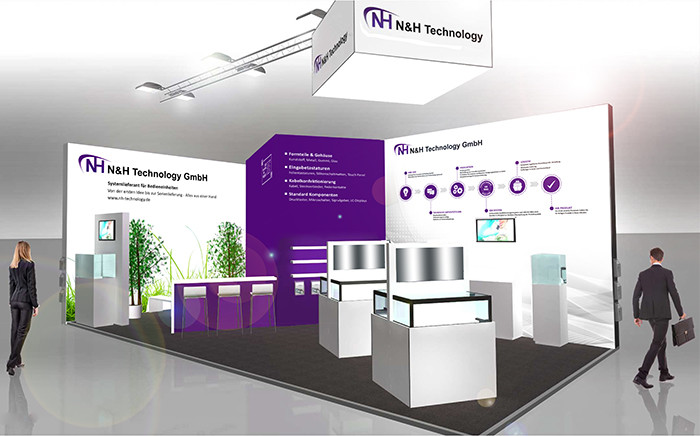 Messestand Electronica