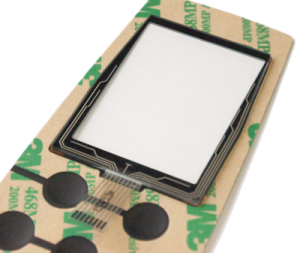 Touch Panel kombiniert mit einer Folientastatur